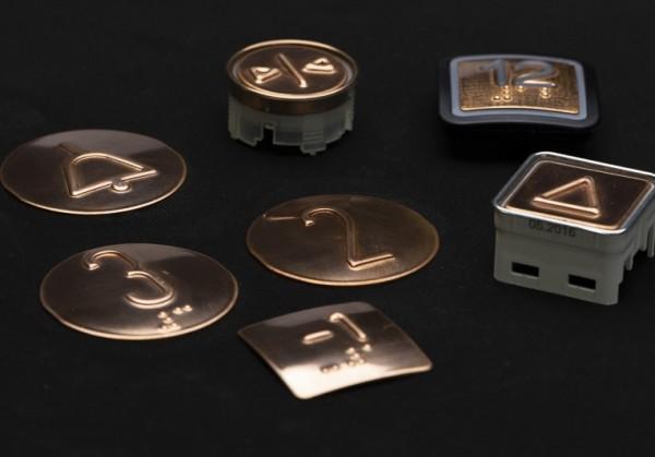Kupfertastplatten