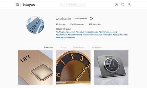 SCHAEFER bei Instagram