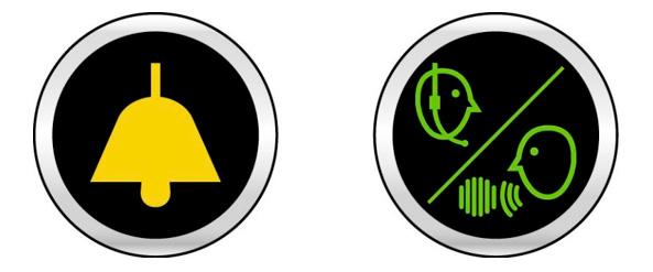 Piktogramme für dasNotrufsystem