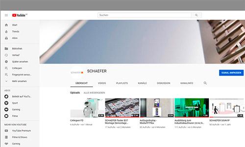 SCHAEFER auf Youtube