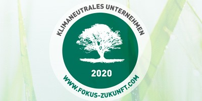 SCHAEFER Klimaneutrales Unternehmen 2020