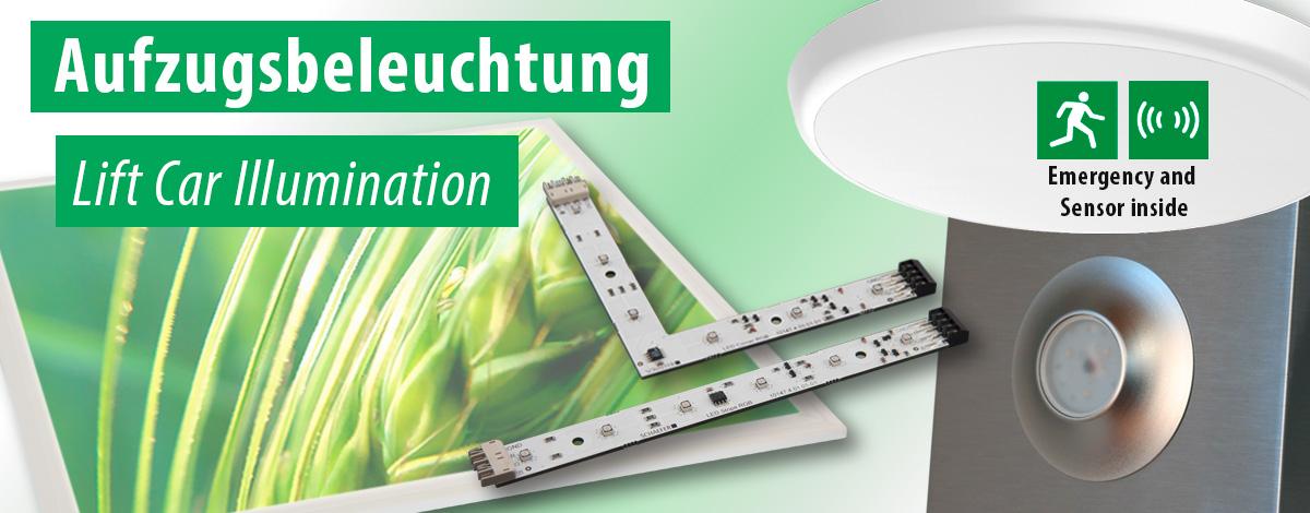 Aufzugsbeleuchtung